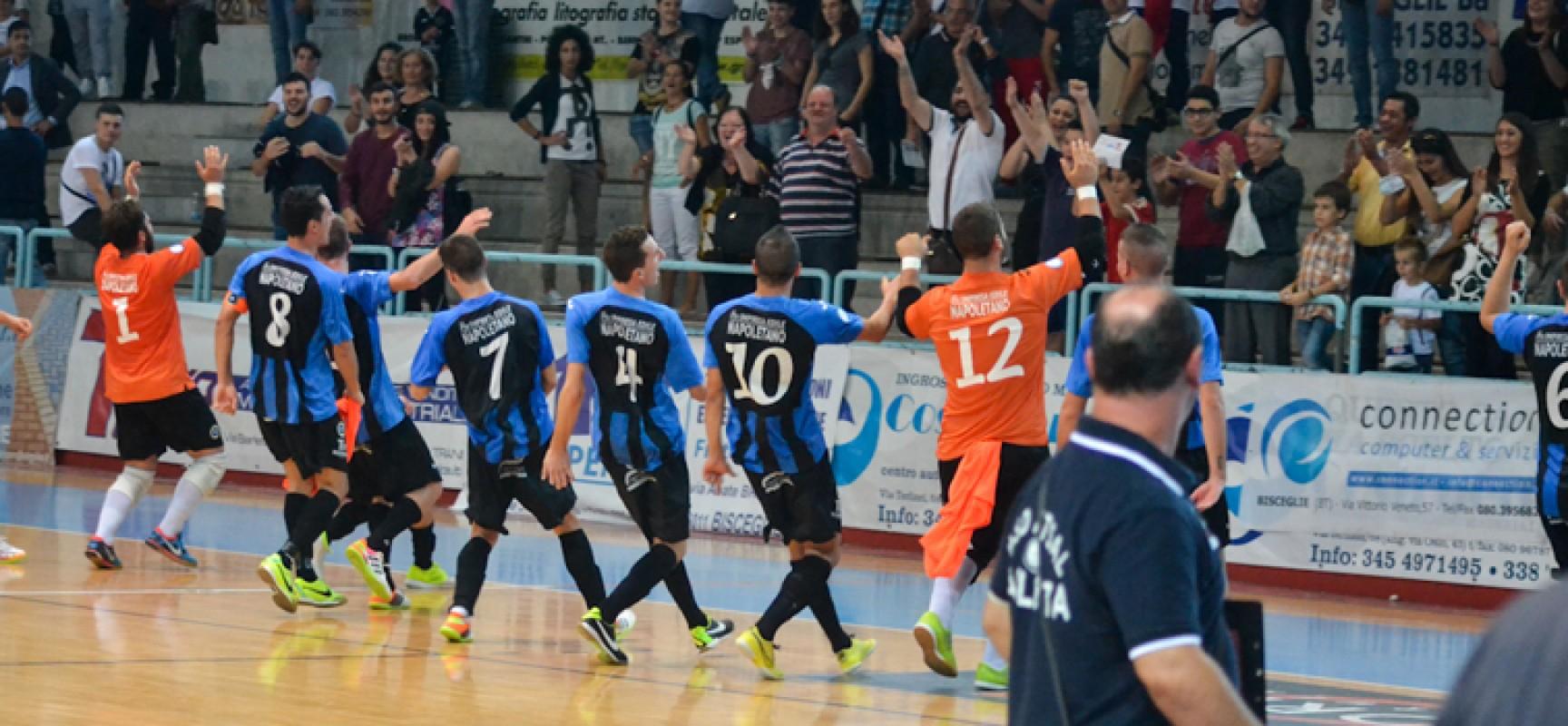 """Sabato 6 dicembre, contro il Cristian Barletta, giornata """"Pro Futsal Bisceglie"""""""