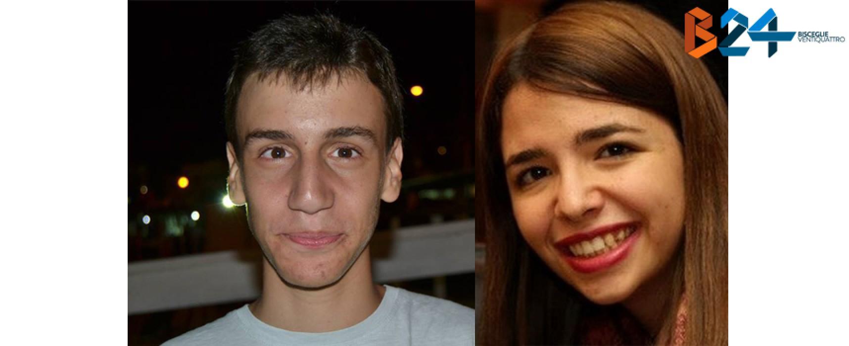 Giorgia Mastrogiacomo e Giorgio Musto: giovani studenti, brillanti risultati