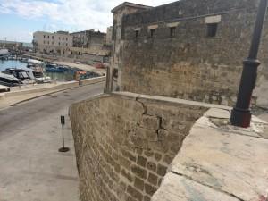 Crepa mura bastione San martino 1