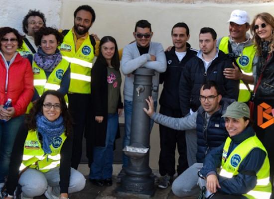"""Inaugurata la fontana di via vecchia Corato restaurata dai ragazzi di """"Io lavoro"""" / VIDEO e FOTO"""