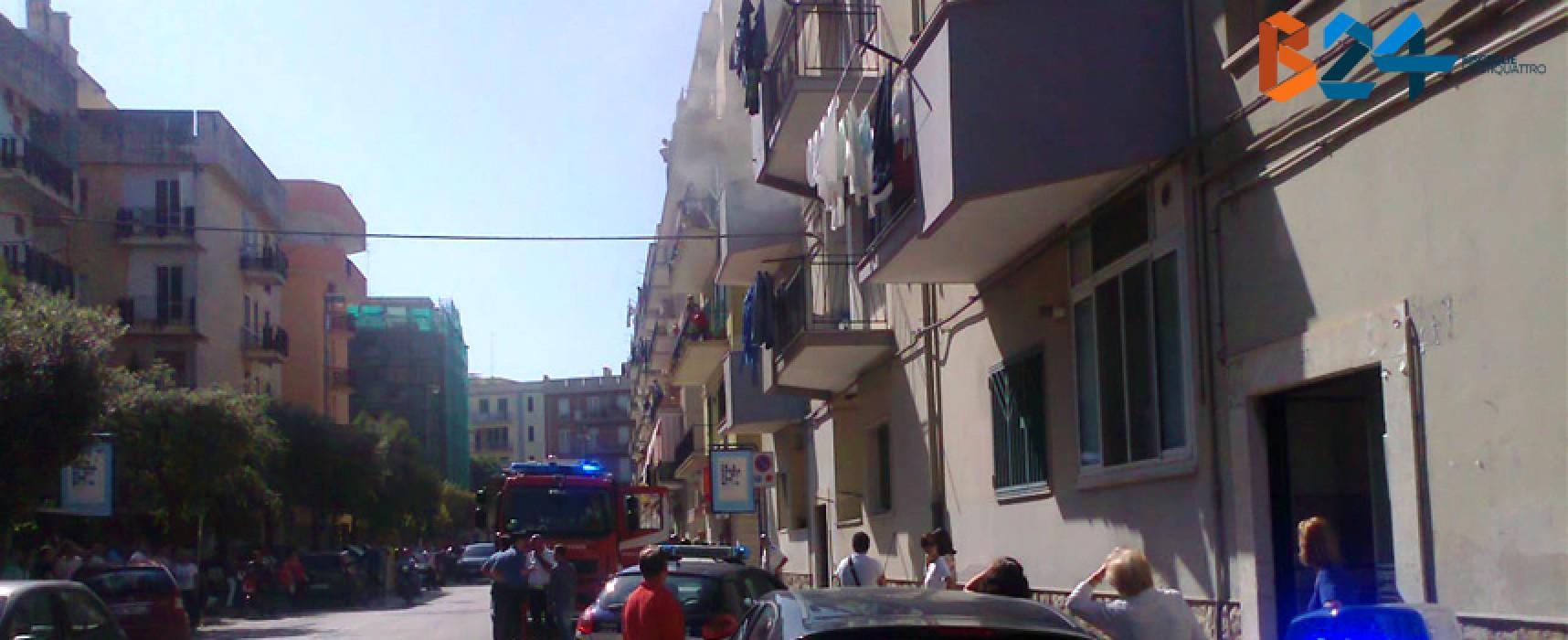 Incendio questa mattina in un appartamento di via Seminario