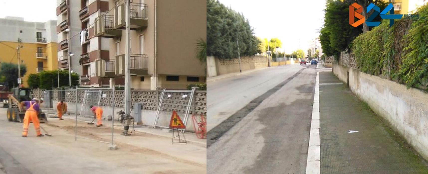 Rimosso anche il palo pericolante di via Martiri di via Fani / FOTO
