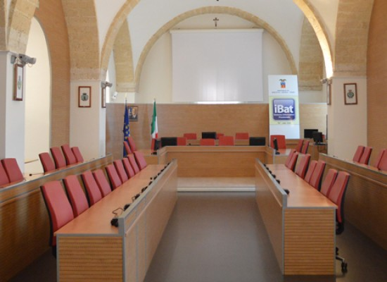 Bat, presidente Giorgino distribuisce deleghe a consiglieri. A Spina lavori pubblici e istruzione
