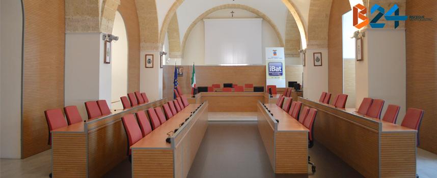 Sala consiliare provincia Bat_SLIDER