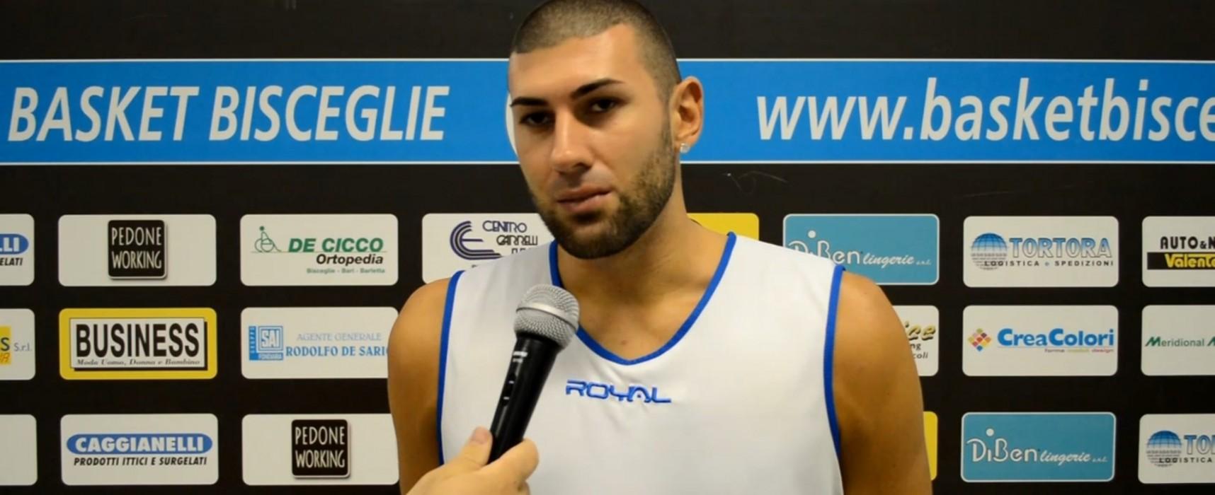 Ambrosia Basket Bisceglie, Domenica il debutto contro l'Aquila Palermo. Intervista a Ivan Scarponi /VIDEO