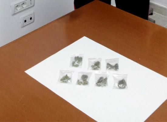 Spacciava droga agli arresti domiciliari, 20enne arrestato dai carabinieri