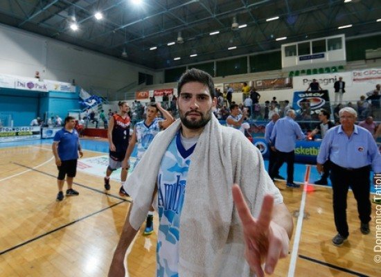 Basket Bisceglie: addio a Mauro Torresi, il capitano lascia dopo quattro stagioni in nerazzurro