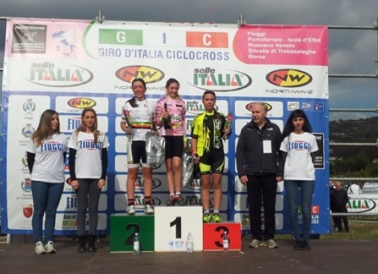 """Cavallaro"": Federica Piergiovanni (Esordienti) seconda al Giro d'Italia Cyclocross"