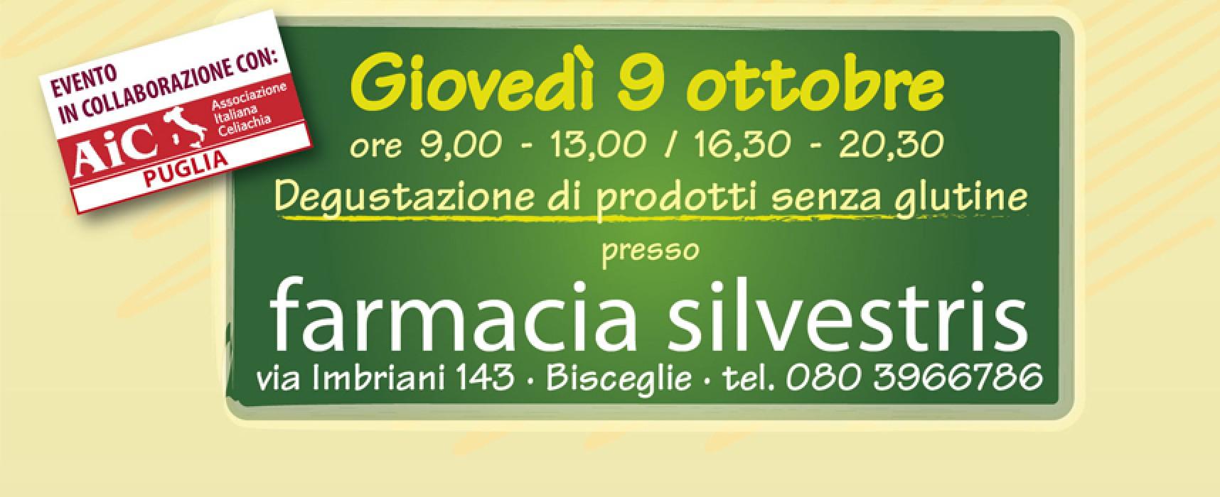 Il 9 ottobre Farmacia Silvestris propone la prima giornata dedicata ai prodotti senza glutine