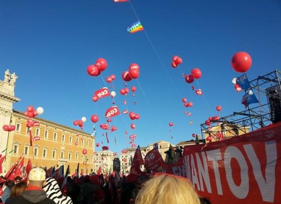 Manifestazione CGIL di Roma, il racconto della delegazione biscegliese presente in piazza San Giovanni