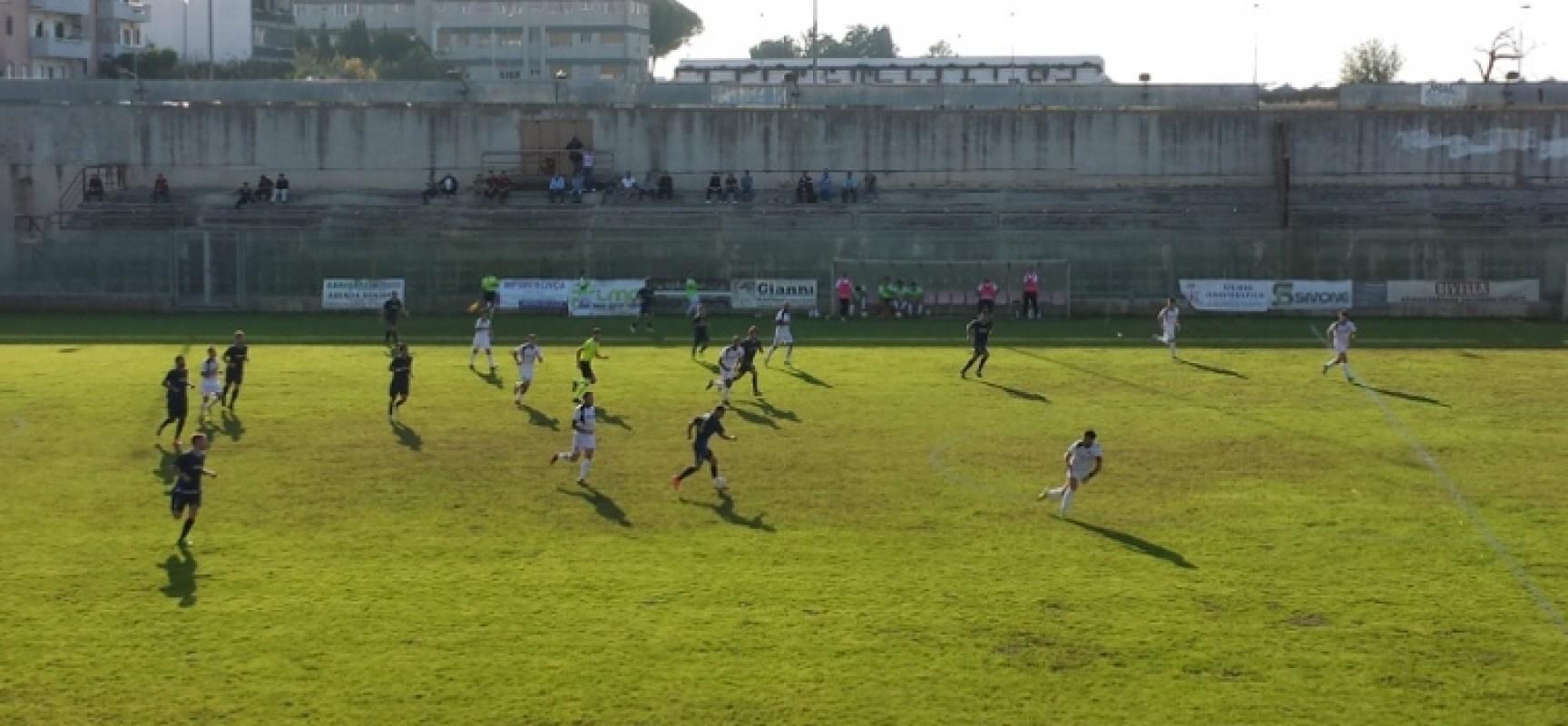 L'Unione Calcio pareggia a Rutigliano, vetta a – 5