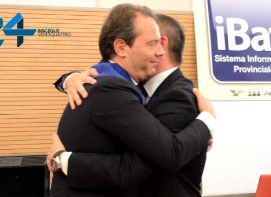 Francesco Spina proclamato Presidente della Provincia B.A.T. / VIDEO e FOTO