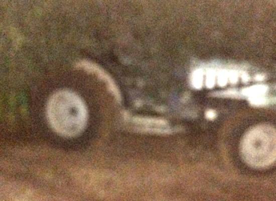 Ritrovato il trattore rubato due giorni fa in largo Che Guevara