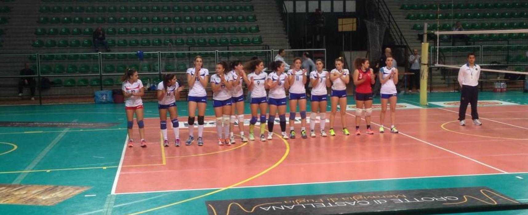 Sportilia Volley, una grande prestazione non basta a Castellana: è 3-1