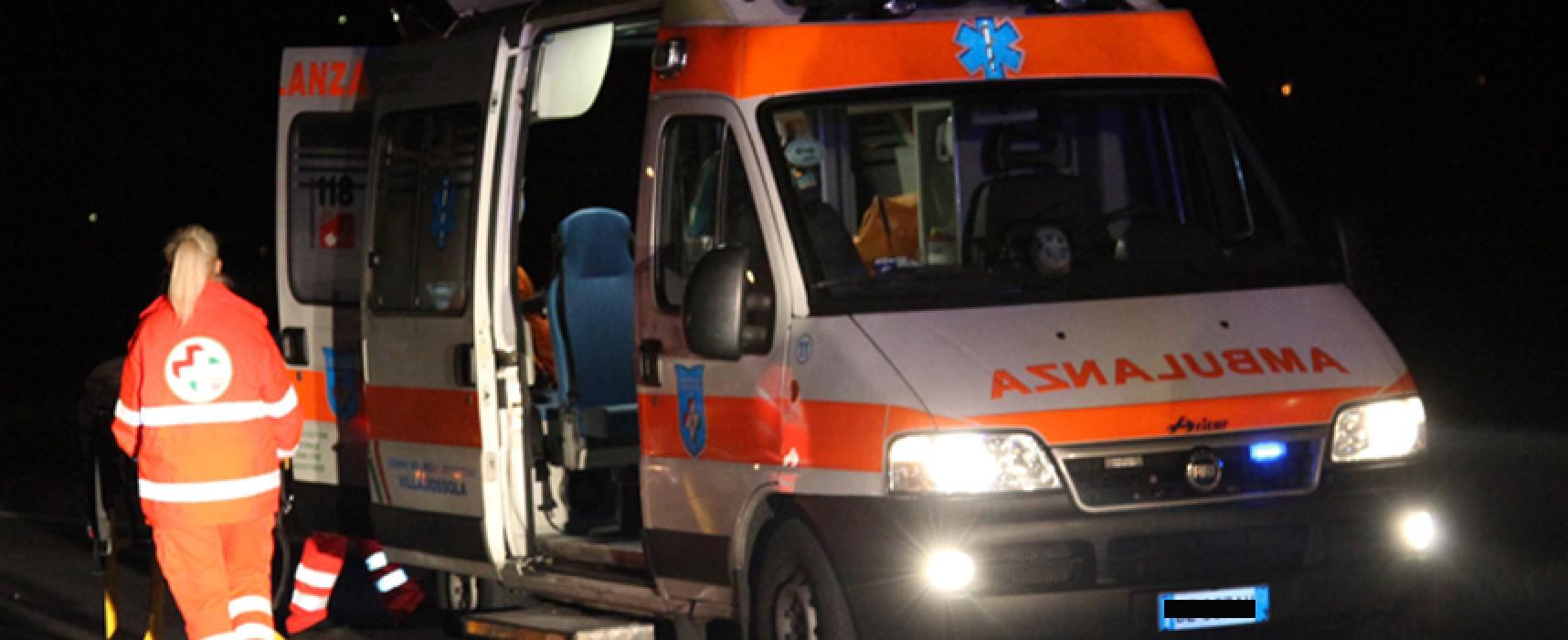 Auto fuori strada sulla Bisceglie-Andria, donna ferita