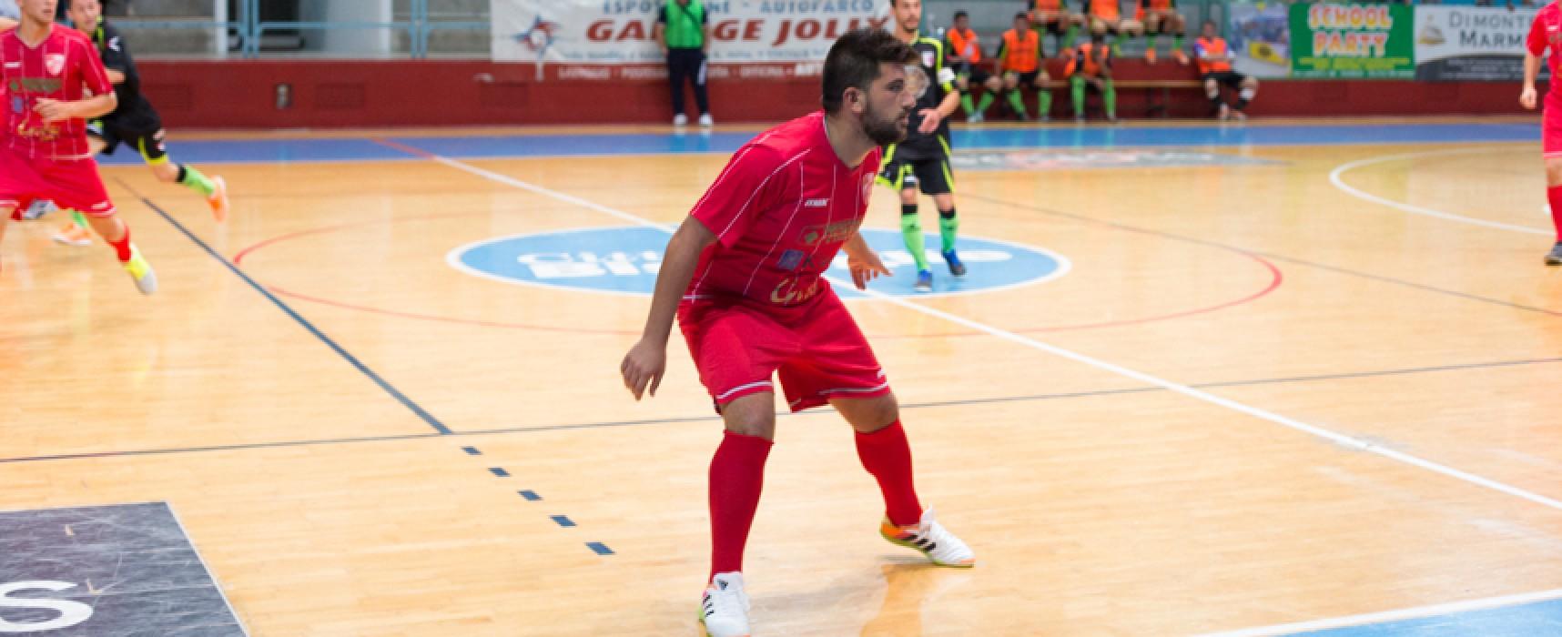 Diaz bloccata sul pari dal Futsal Messapia
