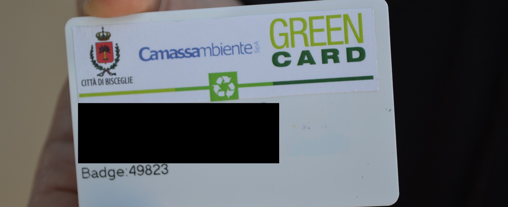 Inaugurata la Green Card, il sistema di premialità comunale per la raccolta differenziata /VIDEO