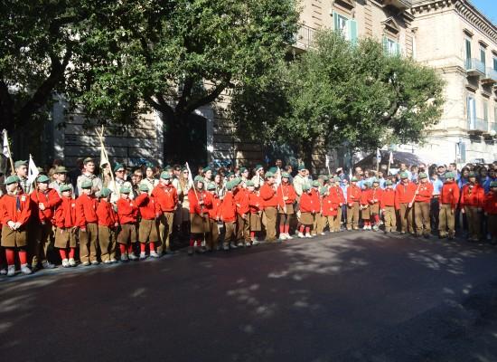 Gli scout di Bisceglie festeggiano i loro 50 anni di attività, svelato il monumento commemorativo /VIDEO