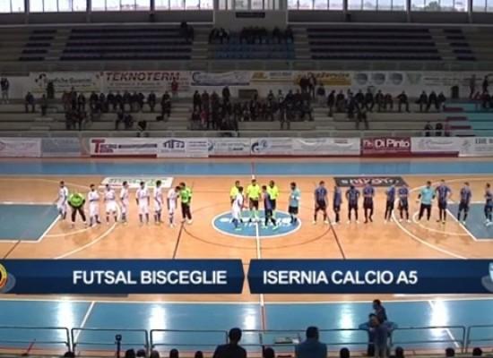 Guarda le azioni salienti di Futsal Bisceglie-Isernia 4-1/VIDEO