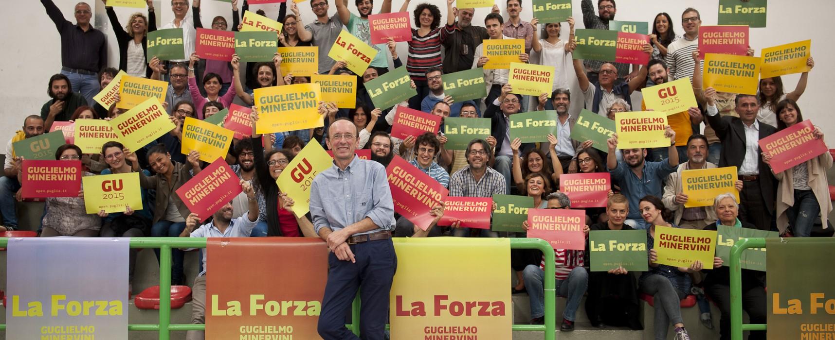 Primarie del centro sinistra, Guglielmo Minervini questa sera a Bisceglie