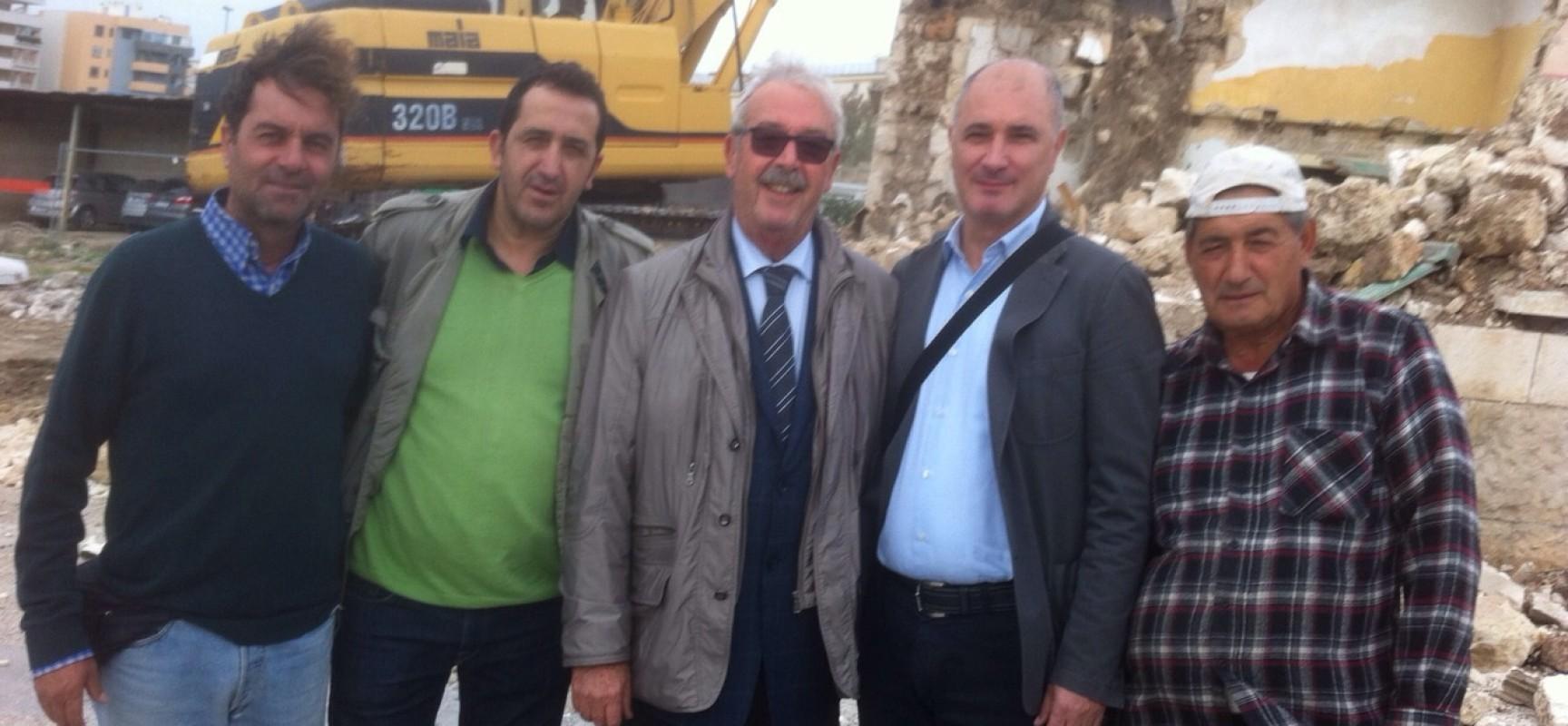 """Partita la costruzione dell'asilo nido comunale di via Cadorna, Valente: """"Sarà completato a Luglio 2015"""""""