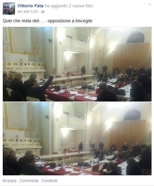 Post Fb Fata opposizione