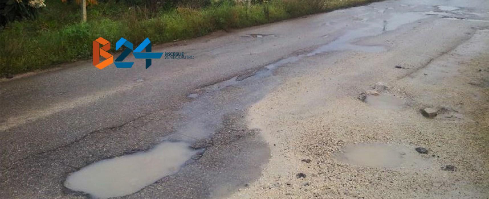 Chiusa la perdita d'acqua in Via San Mercuro, seguiranno lavori dell'Aqp / FOTO