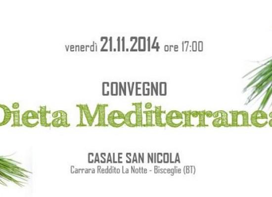 """""""Dieta Mediterranea"""": tutto quello che c'è da sapere domani in un convegno"""