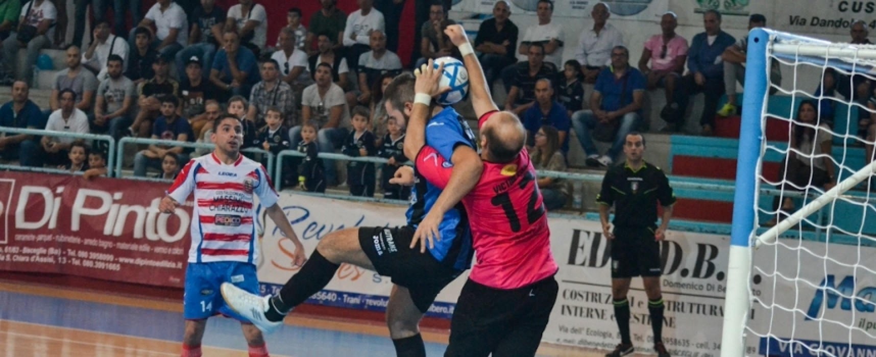 LIVE: Giovinazzo – Futsal Bisceglie 1-6