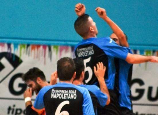 Il Futsal Bisceglie torna capolista in coabitazione con il Barletta C5/Video