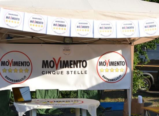 Stamane gazebo in piazza del Movimento 5 Stelle per discutere di Cdp