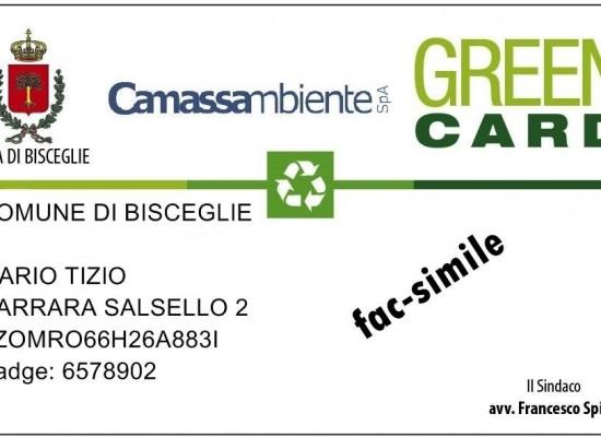 Green Card, stanziati premi per 16mila euro per gli utenti in regola con il pagamento Tari