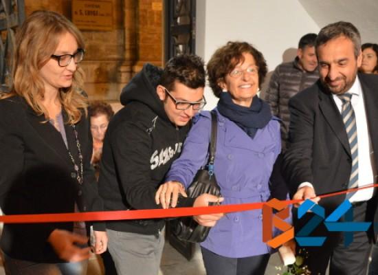 """""""Io Lavoro"""", inaugurata la rampa d'accesso al Chiostro di Santa Croce / FOTO"""