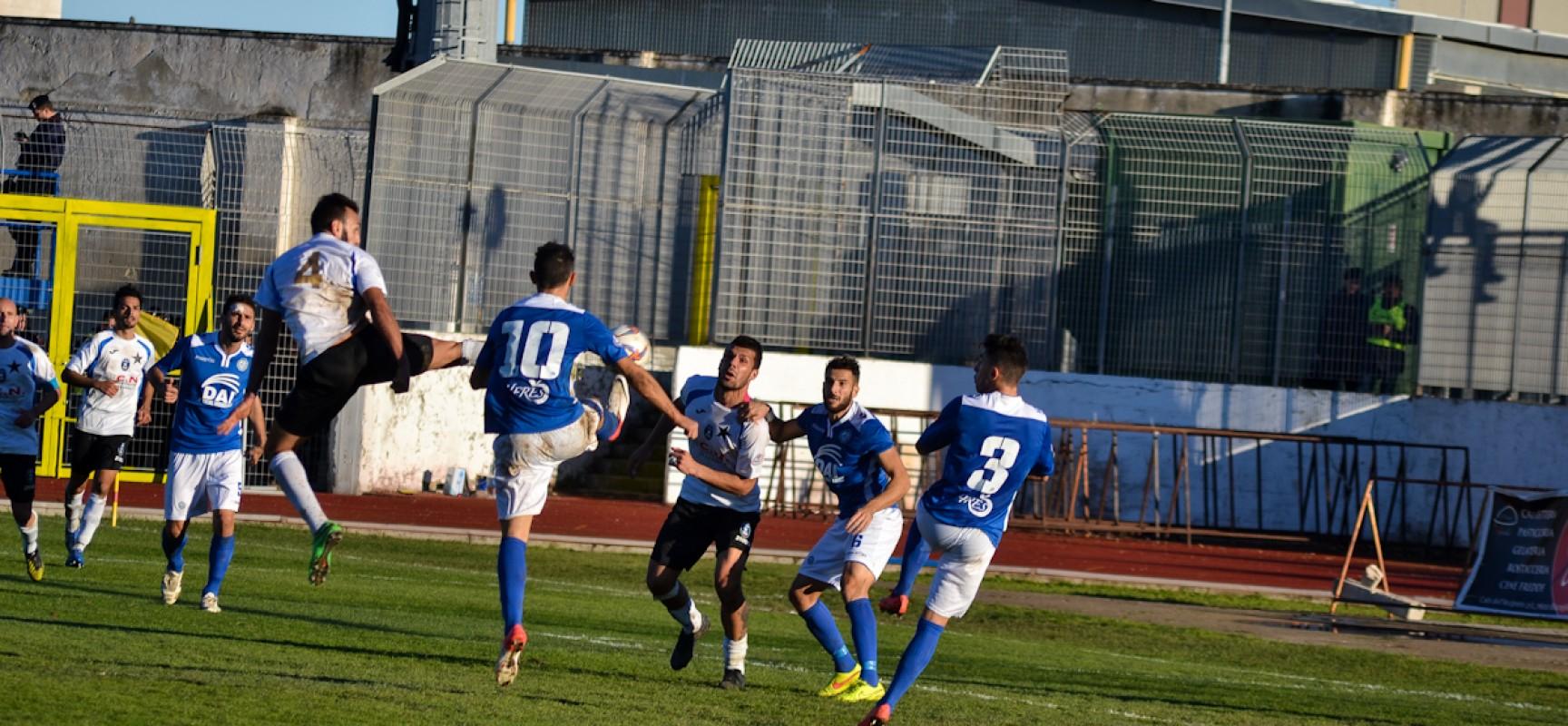 Beffa Bisceglie, la Cavese vince 1-0