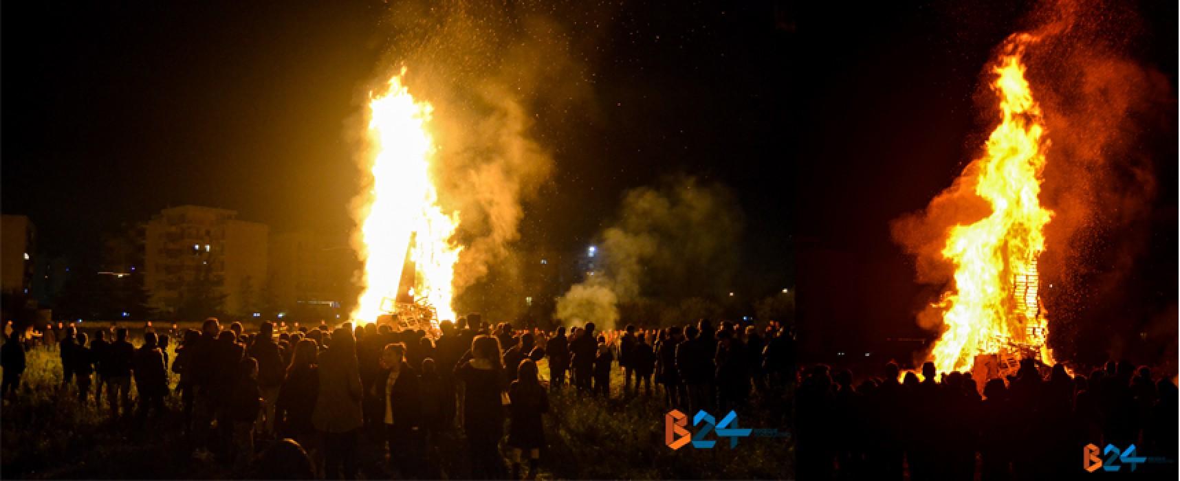 Anche quest'anno si è rinnovata la magica tradizione dei falò / FOTO