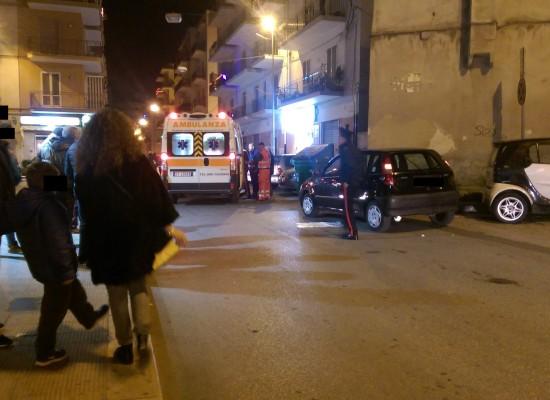 45enne biscegliese alla guida colto da malore in via Pasubio