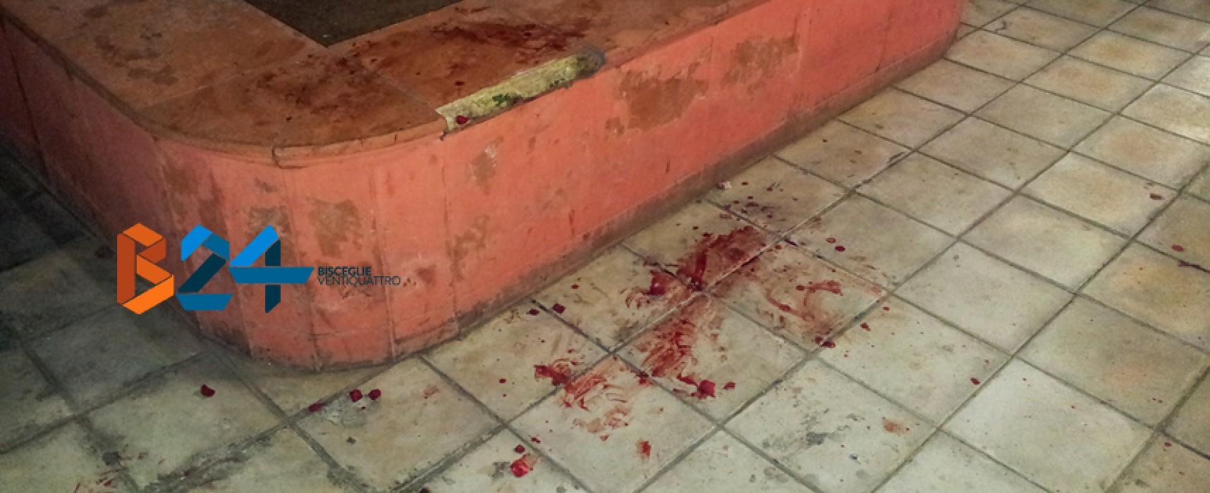 Sangue ovunque in stazione e Pinuccio soccorso dall'Oer: il caso del clochard è un'emergenza / FOTO