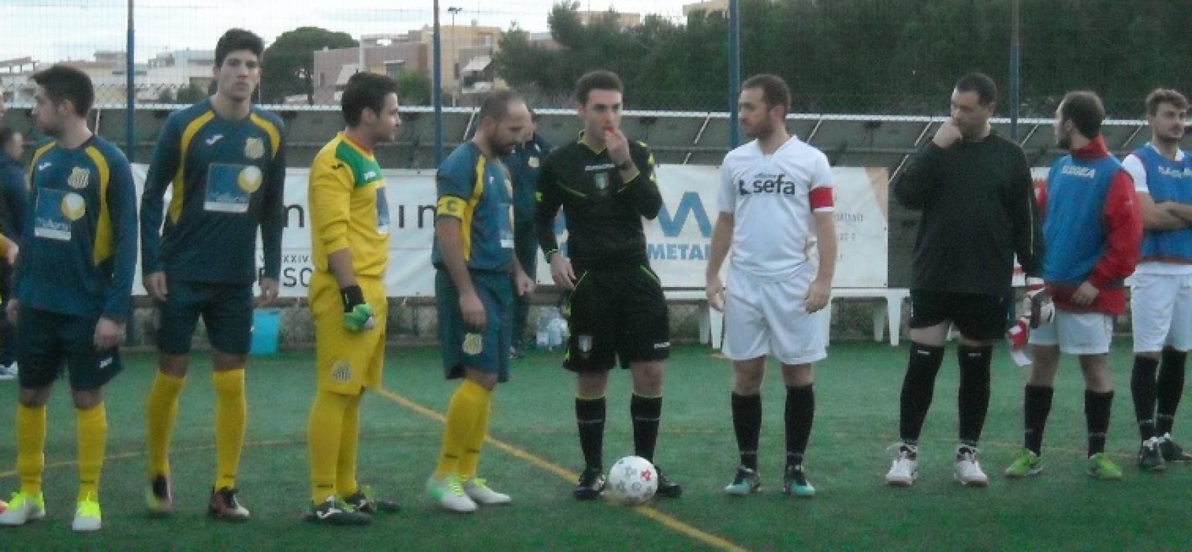 Santos Club vittoria sul Futsal Giovinazzo e primato in classifica