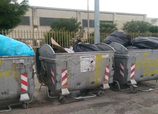 Zona artigianale ovest, è ancora una volta emergenza rifiuti /FOTO