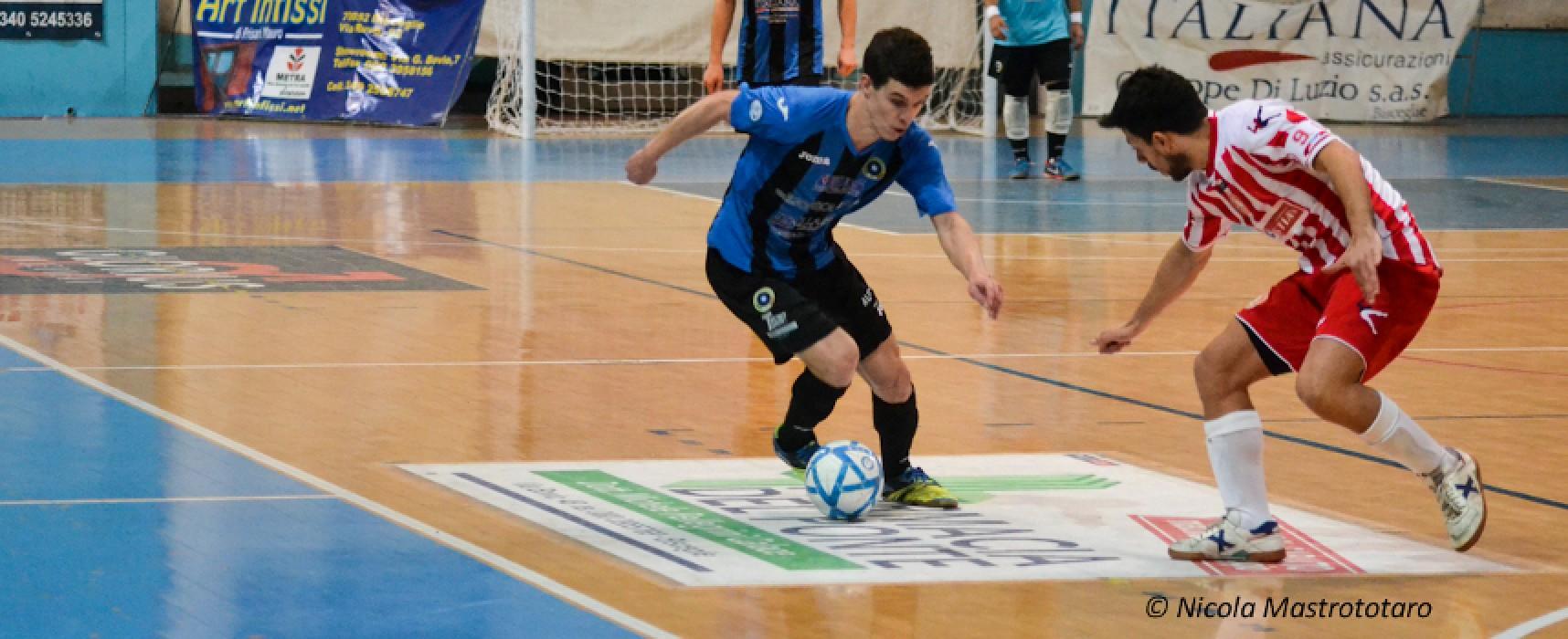Futsal Bisceglie che beffa, rimontato da 3-0 a 3-3!
