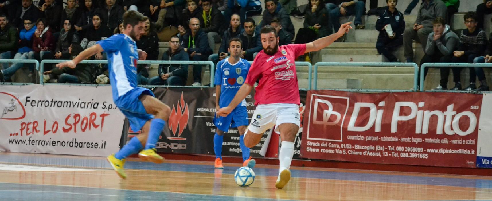 Futsal Bisceglie-Azzurri Conversano 7-3/VIDEO HIGHTLIGHTS