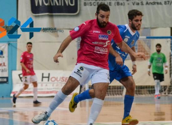Domani la capolista Futsal Bisceglie nella tana del Futsal Barletta