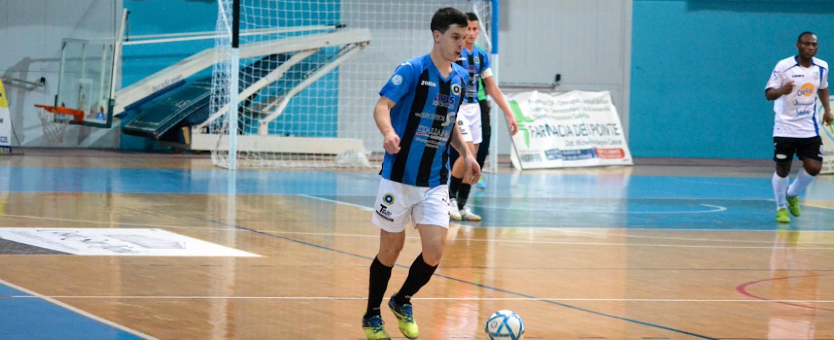 Futsal Bisceglie atteso a Rutigliano dall'esame Virtus