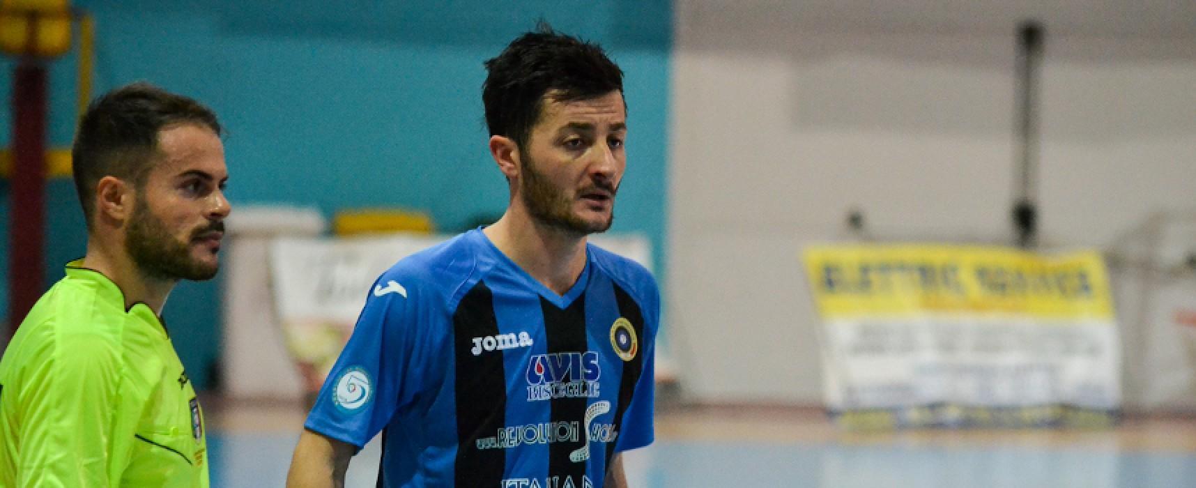 Ecco gli hightlights del pari del Futsal Bisceglie a Rutigliano/VIDEO