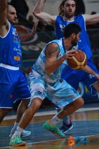 Mauro Torresi in azione contro Agropoli