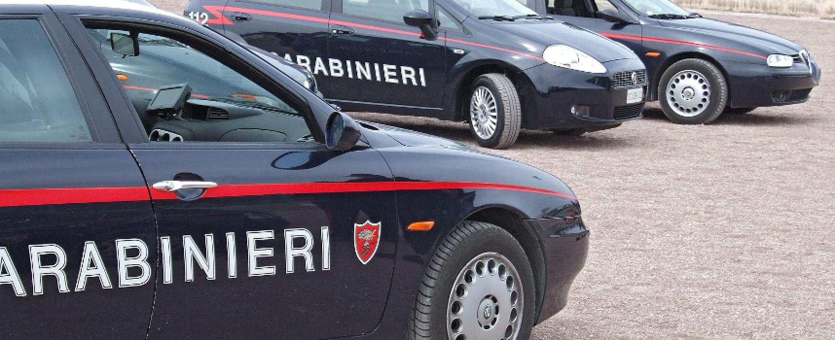 Azione di controllo Carabinieri Bisceglie, due arresti e una denuncia