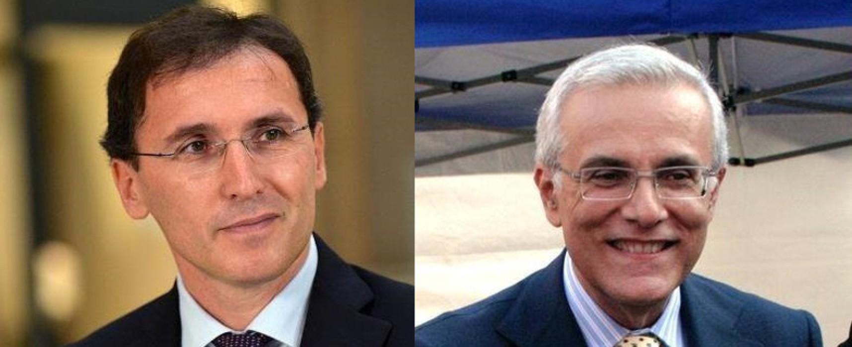 Amministrazione Spina, Boccia (PD): «Tira avanti alla giornata», Amoruso (FI): «Doppio incarico porta a disattenzioni»