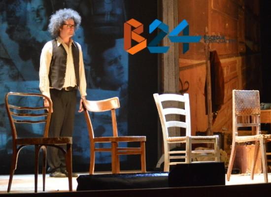 """Simone Cristicchi torna al Teatro Garibaldi con """"Il secondo figlio di Dio"""", storia del """"Cristo dell'Amiata"""""""
