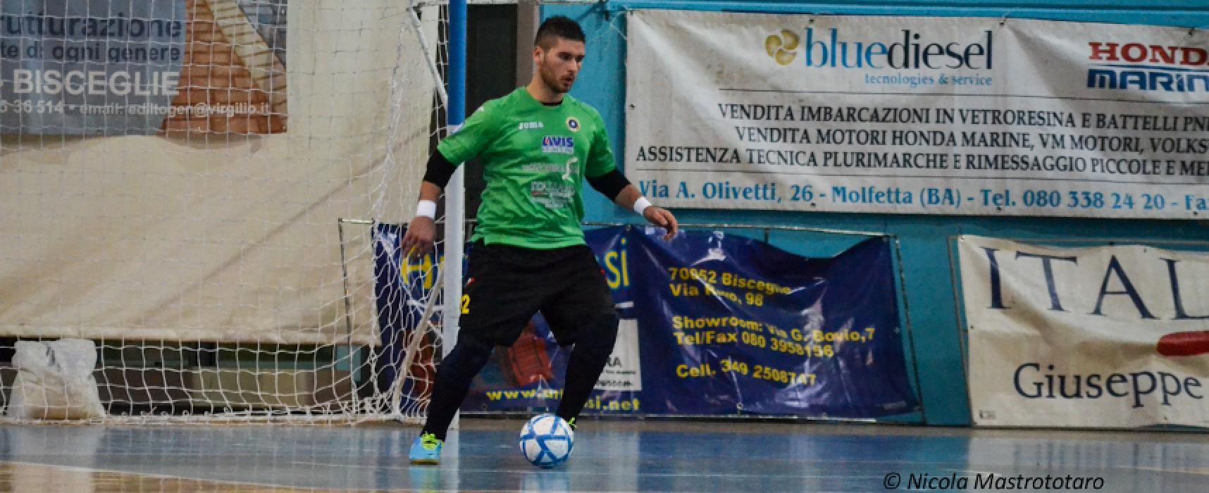 La capolista Futsal Bisceglie supera con un netto 7-2 il Venafro