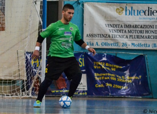 Futsal Bisceglie, online gli highlights del 2-2 a Conversano/VIDEO